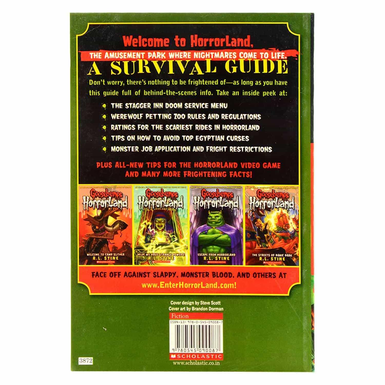 Goosebumps Horrorland Series - A Survival Guide