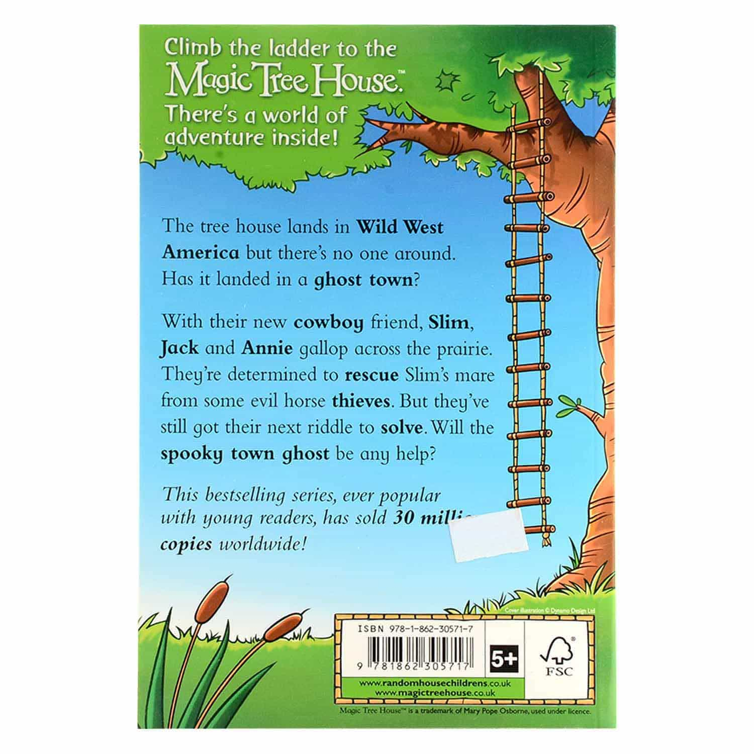 Magic Tree House Series - A Wild West Ride