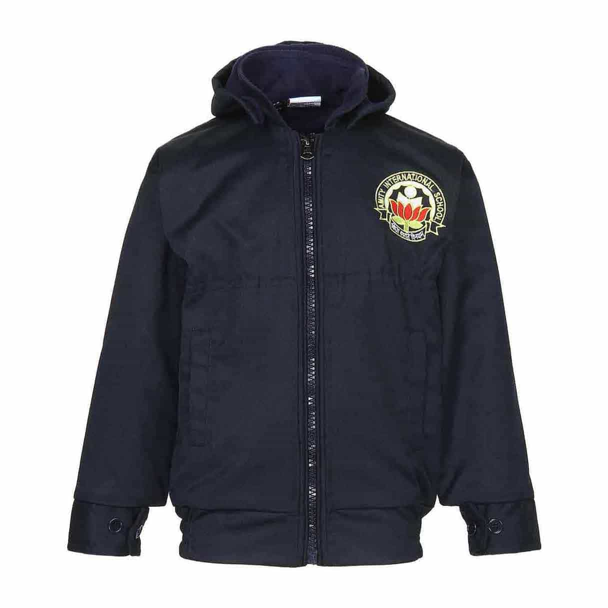 Amity Winter Blue Full Sleeves Jacket - Class Nursery to 1st