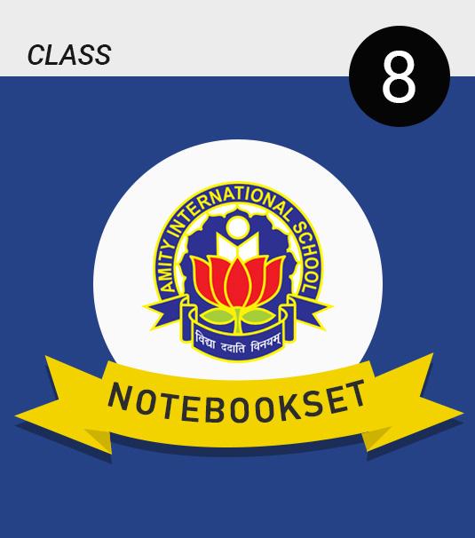 Amity Notebook Set Class - 8