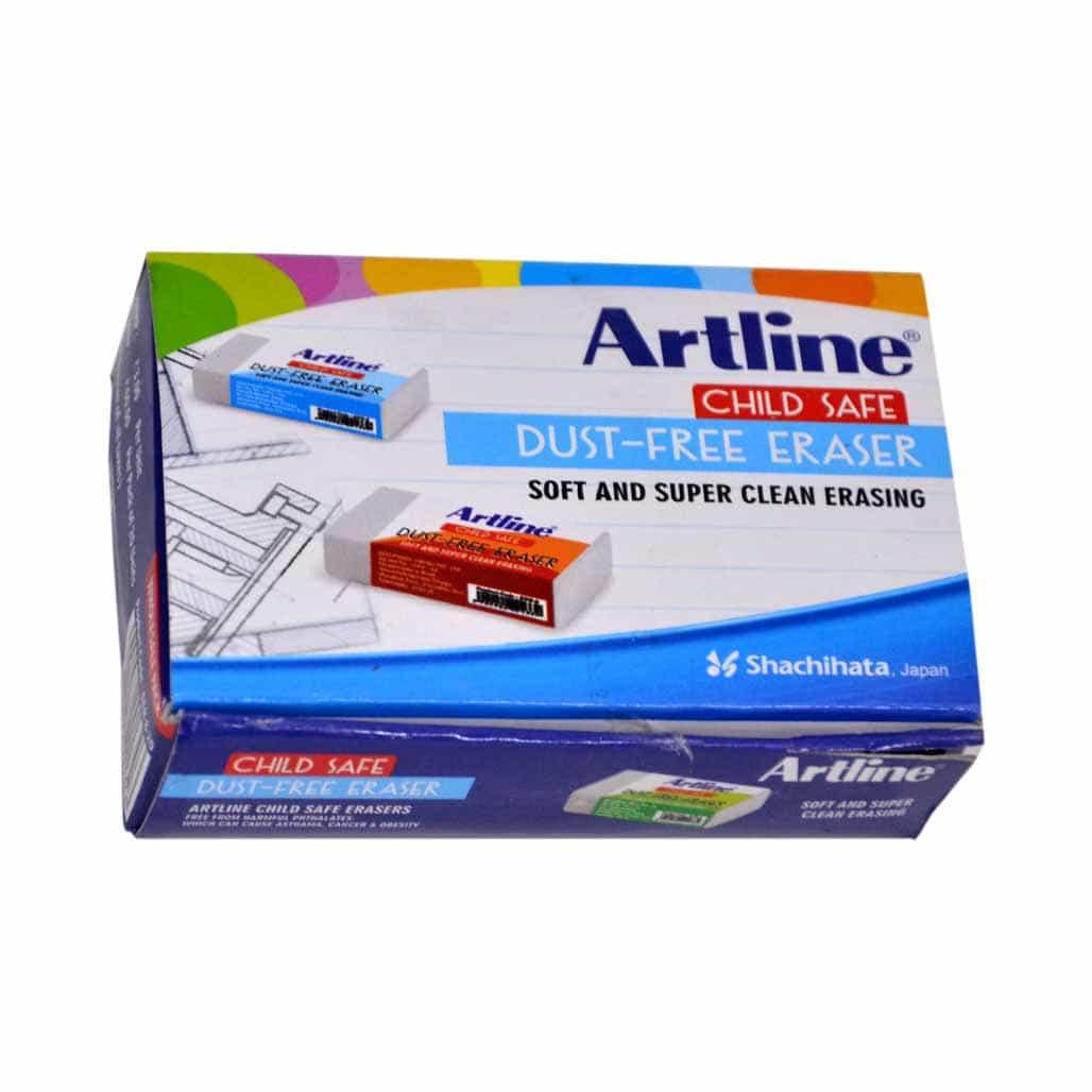 Artline Dust Free Eraser - Set of 20