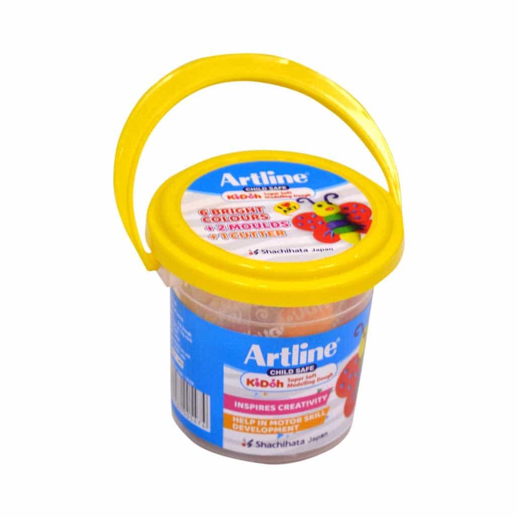 Artline Modelling Dough - 6 Shades