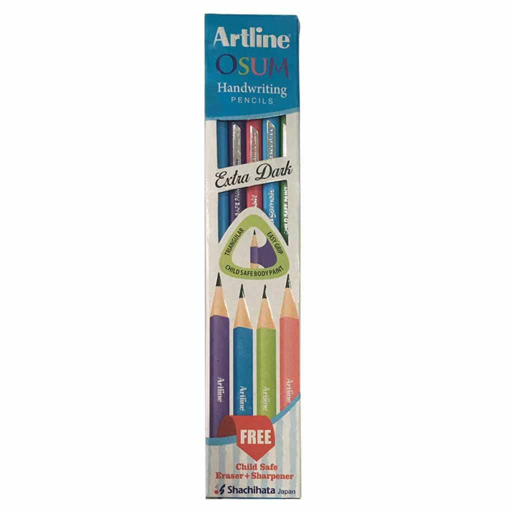Artline Triangular Handwriting Pencils - Set of 10