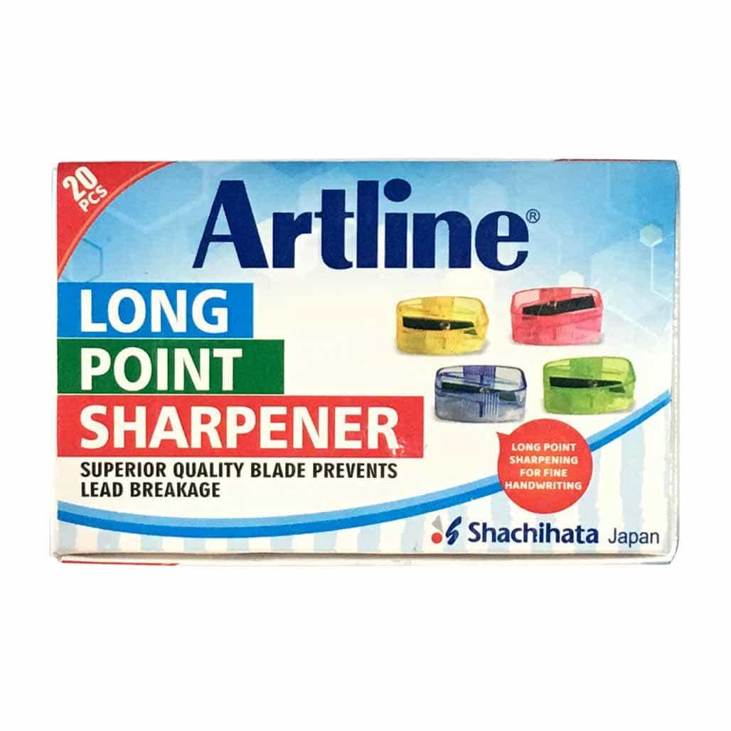 Artline Long Point Sharpener - Set of 20