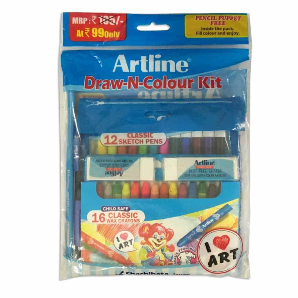 Artline Draw & Color Kit
