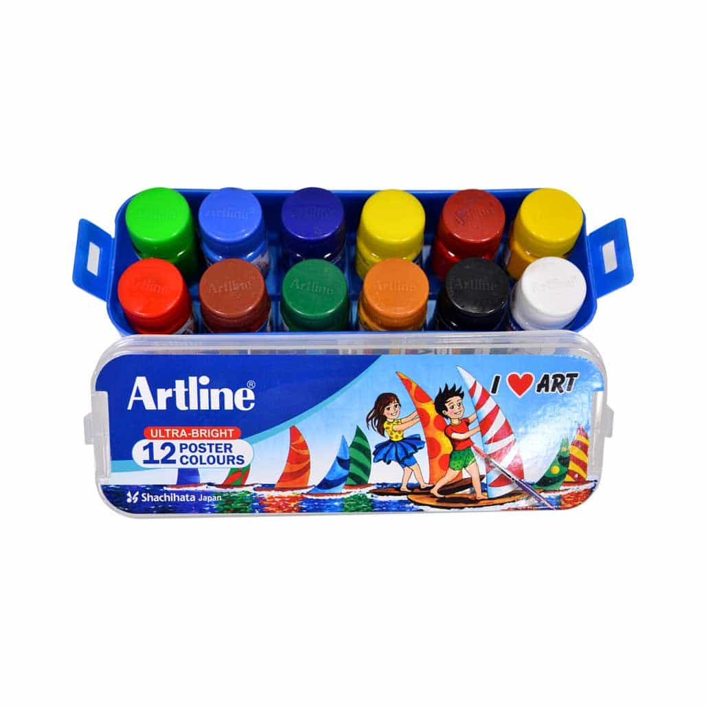 Artline Poster Colors - 12 Shades