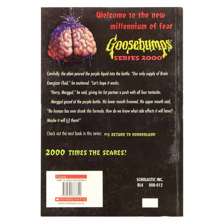 Goosebumps Series - Brain Juice