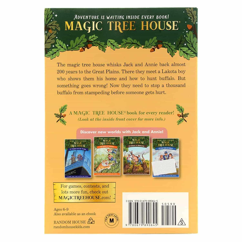 Magic Tree House Series - #18 Buffalo Before Breakfast