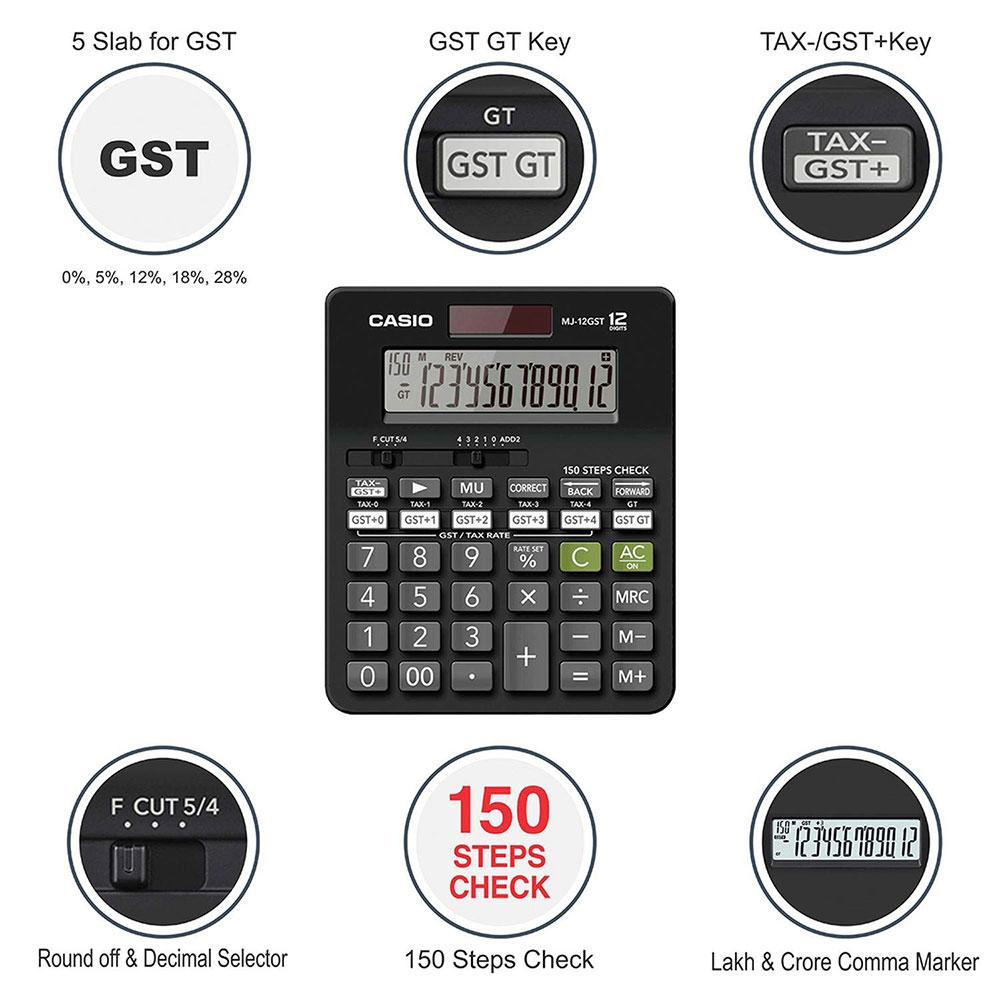 Casio MJ-12GST Calculator