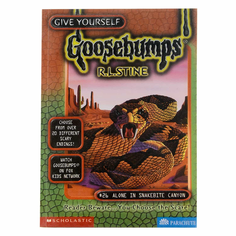 Goosebumps Horrorland Series - #26 Alone in  Snakebite Canyon