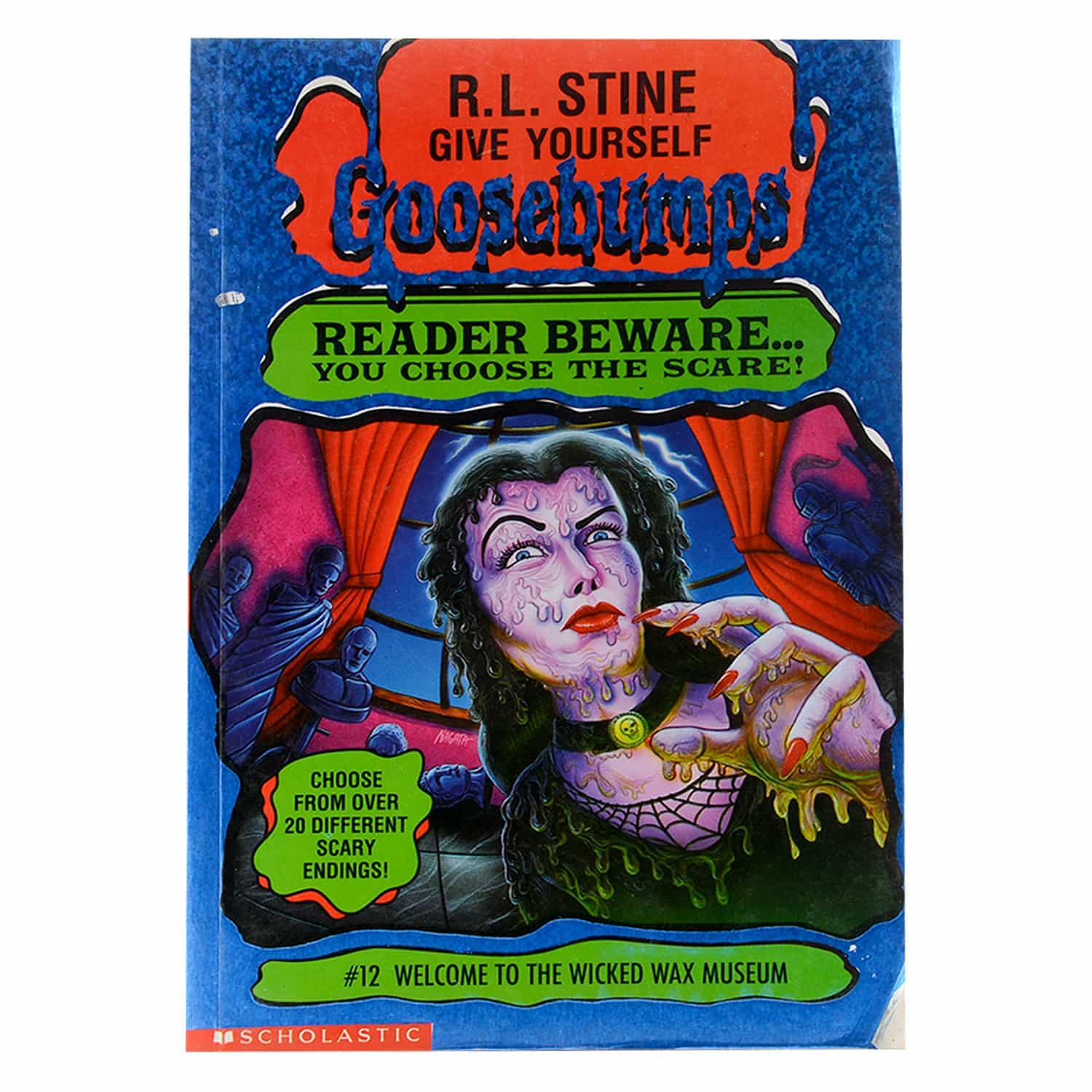 Goosebumps Horrorland Series -  #12 Welcome to the Wicked Wax Museum