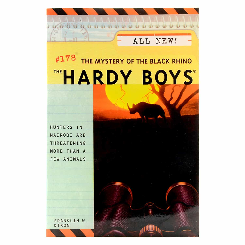 Hardyboys Adventures Series- #178 The Mystery of the Black Rhino