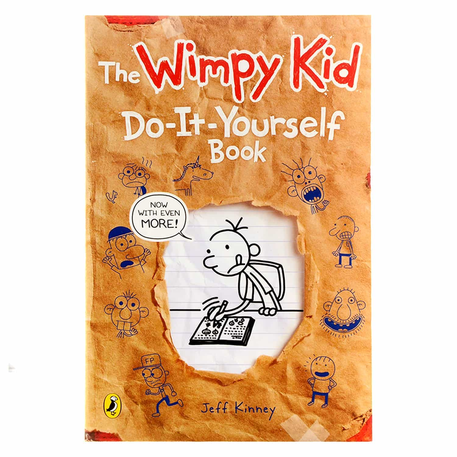 Diary of a Wimpy Kid Series- The Do-It-Yourself Book