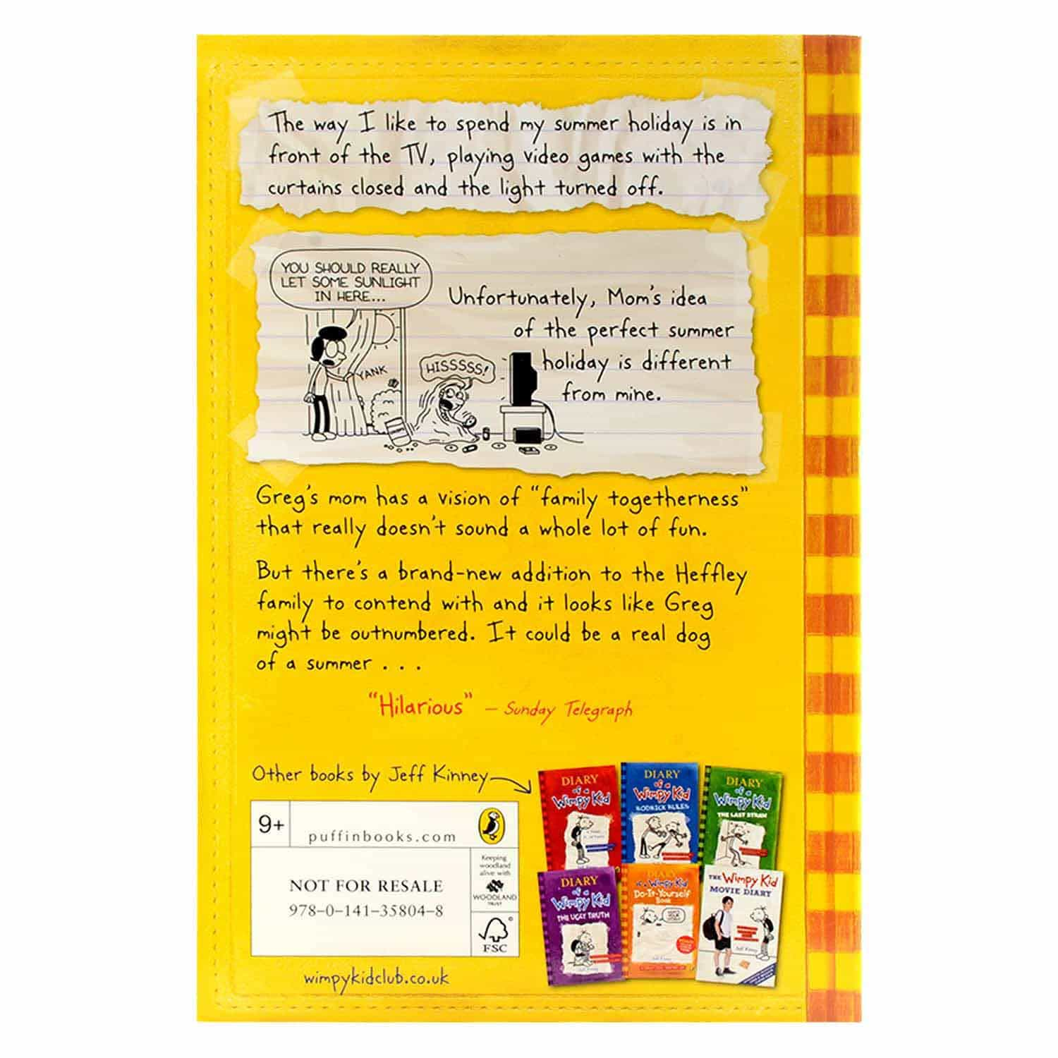 Diary of a Wimpy Kid Series- Dog Days