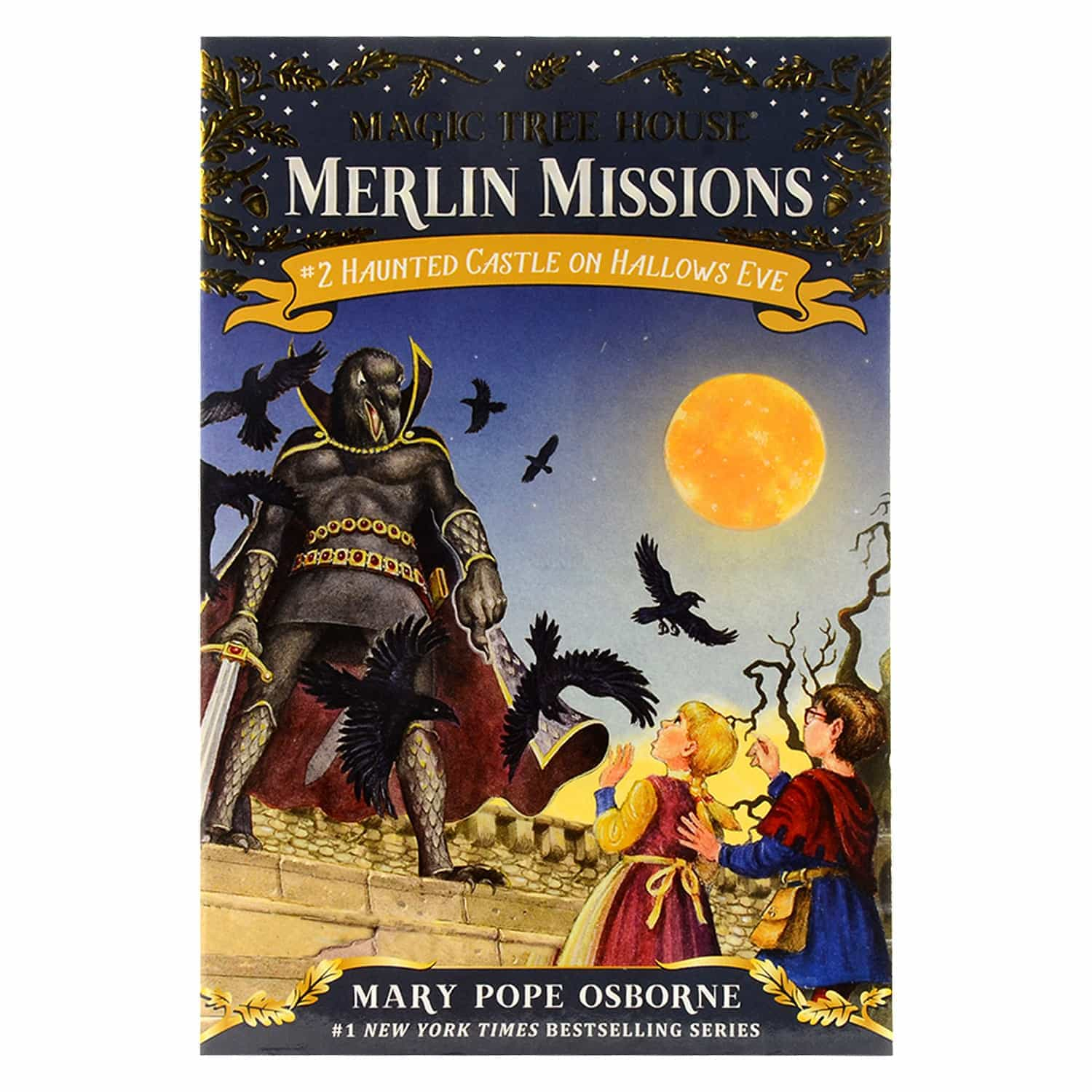 Magic Tree House Merlin Missions Series- #2 Haunted Castle on Hallows Eve