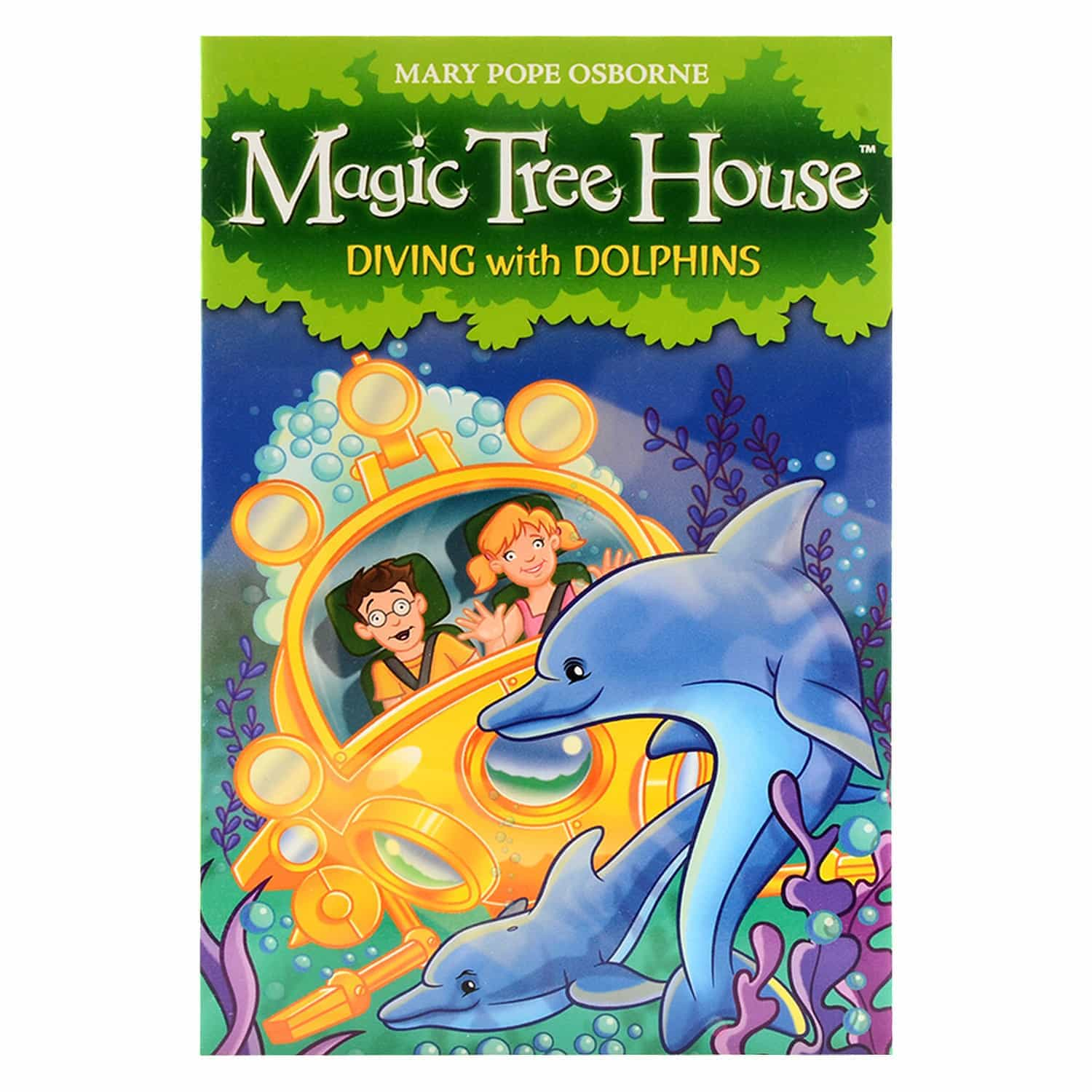 Magic Tree House Series - Diving with Dolphins