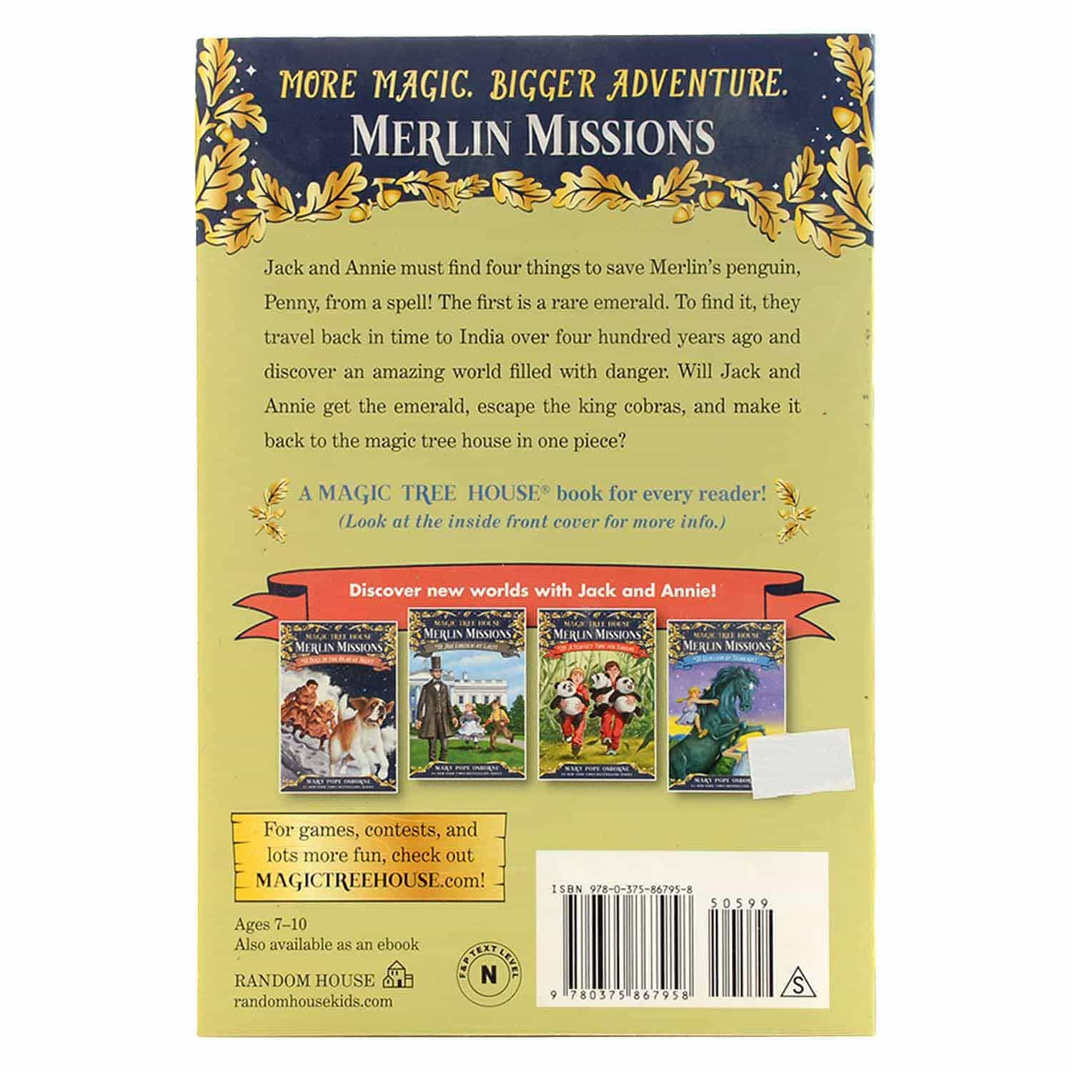 Magic Tree House Merlin Missions Series- #17 A Crazy Day With Cobras