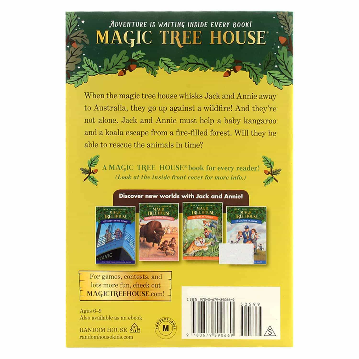Magic Tree House Series - #20 Dingoes at Dinnertime