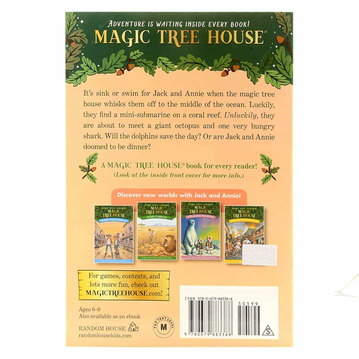 Magic Tree House Series - #9 Dolphins At Daybreak