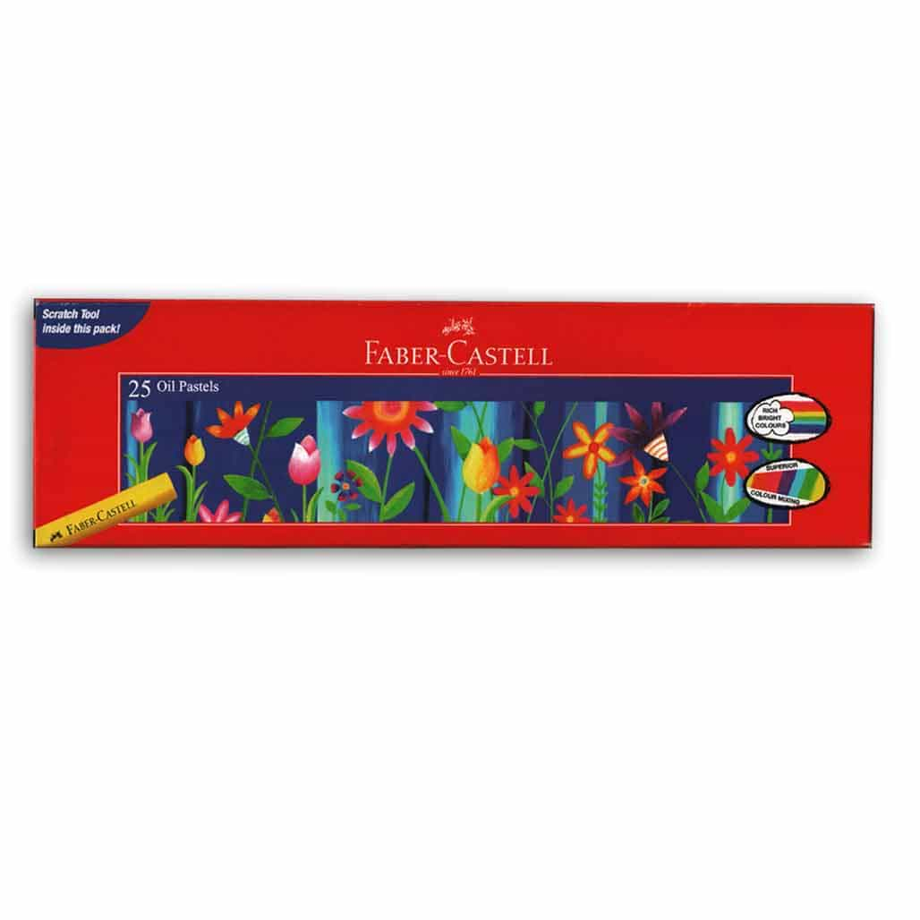 Faber Castell Oil Pastel Colors - 25 Shades