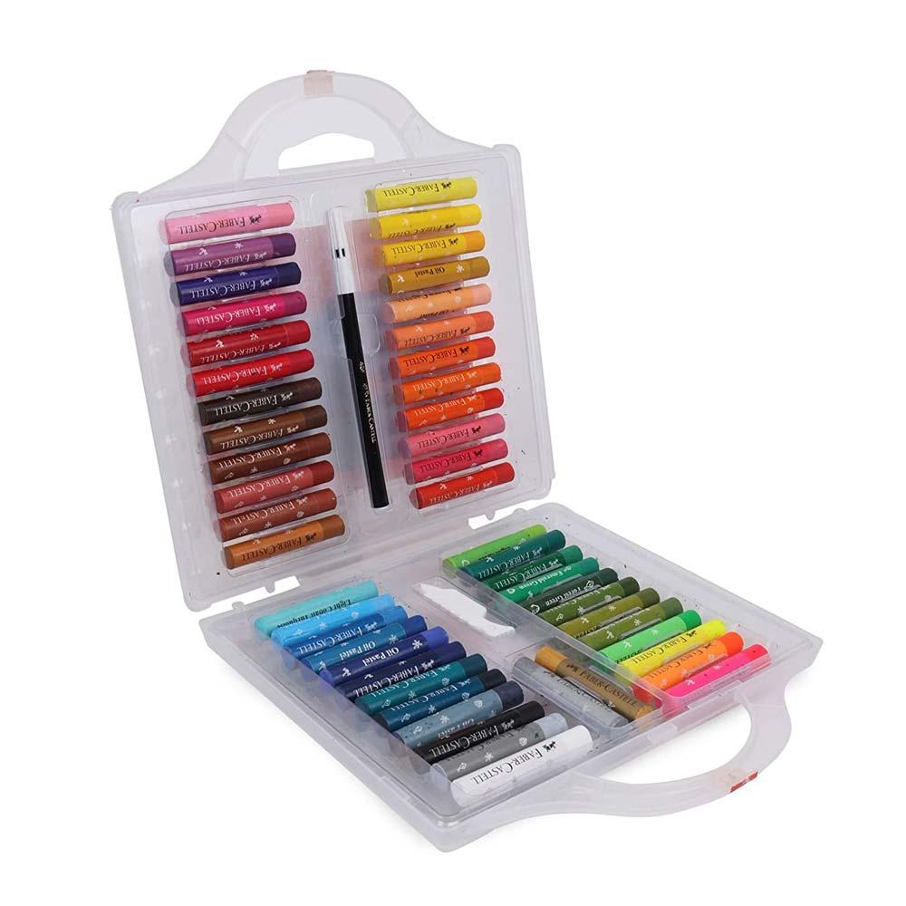 Faber-Castell Oil Pastels Color Set (Box of 50 Colours)