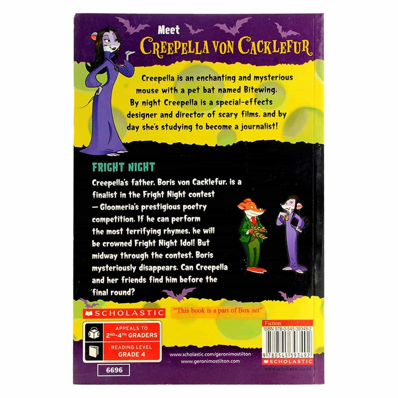 Creepella Von Cacklefur Series - Fright Night