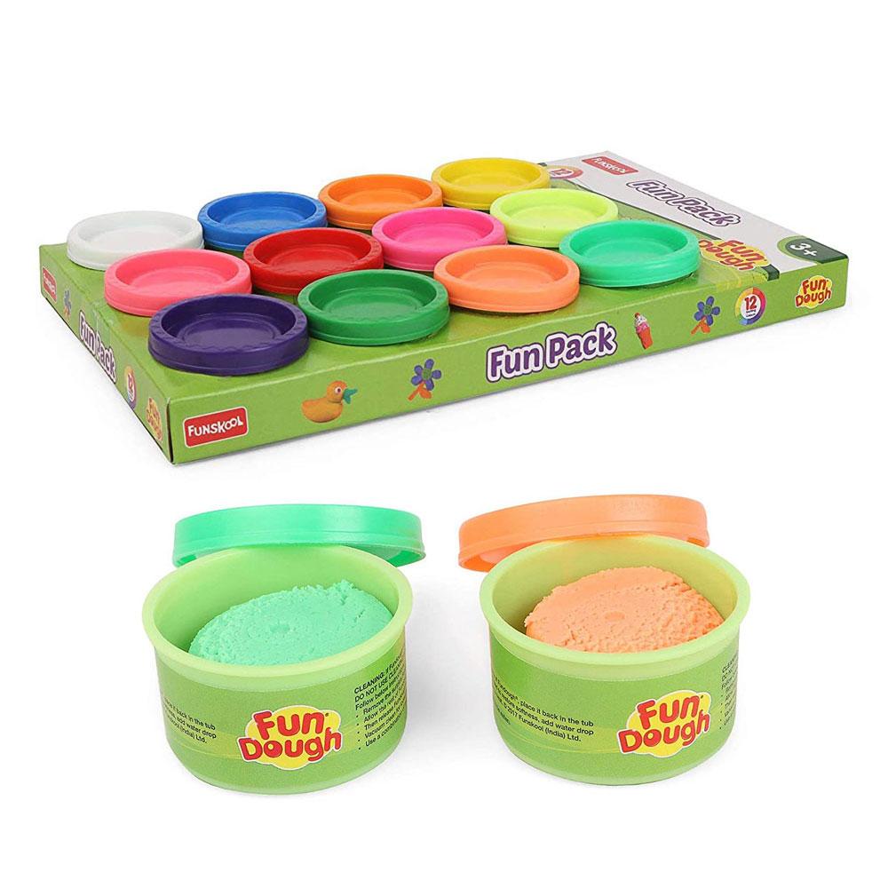 Funskool-Fundough Fun (Pack of Multi Colour)