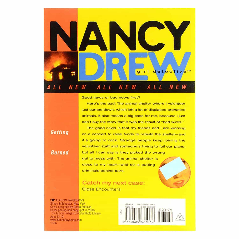 Nancy Drew Series - #20 Getting Burned
