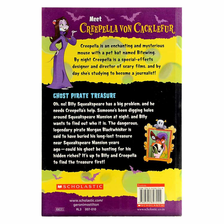 Creepella Von Cacklefur Series - Ghost Pirate Treasure