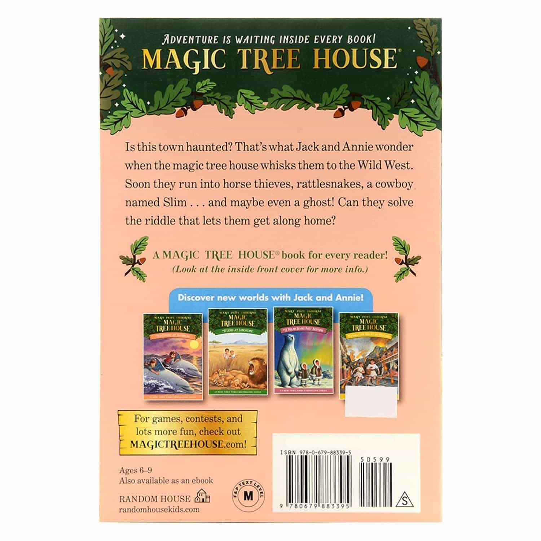Magic Tree House Series - #10 Ghost Town At Sundown