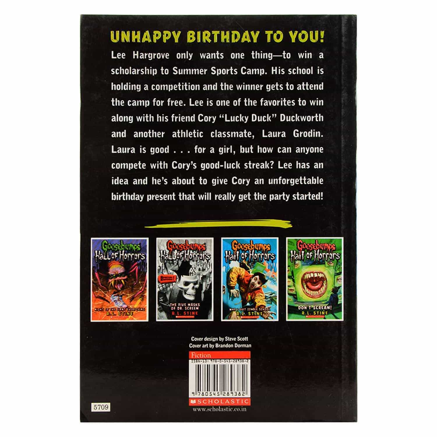 Goosebumps Hall of Horrors Series - The Birthday Party of no Return