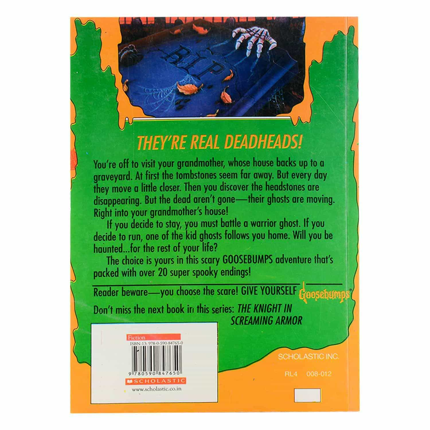 Goosebumps Horrorland Series -  #8 The Curse of the Creeping Coffin