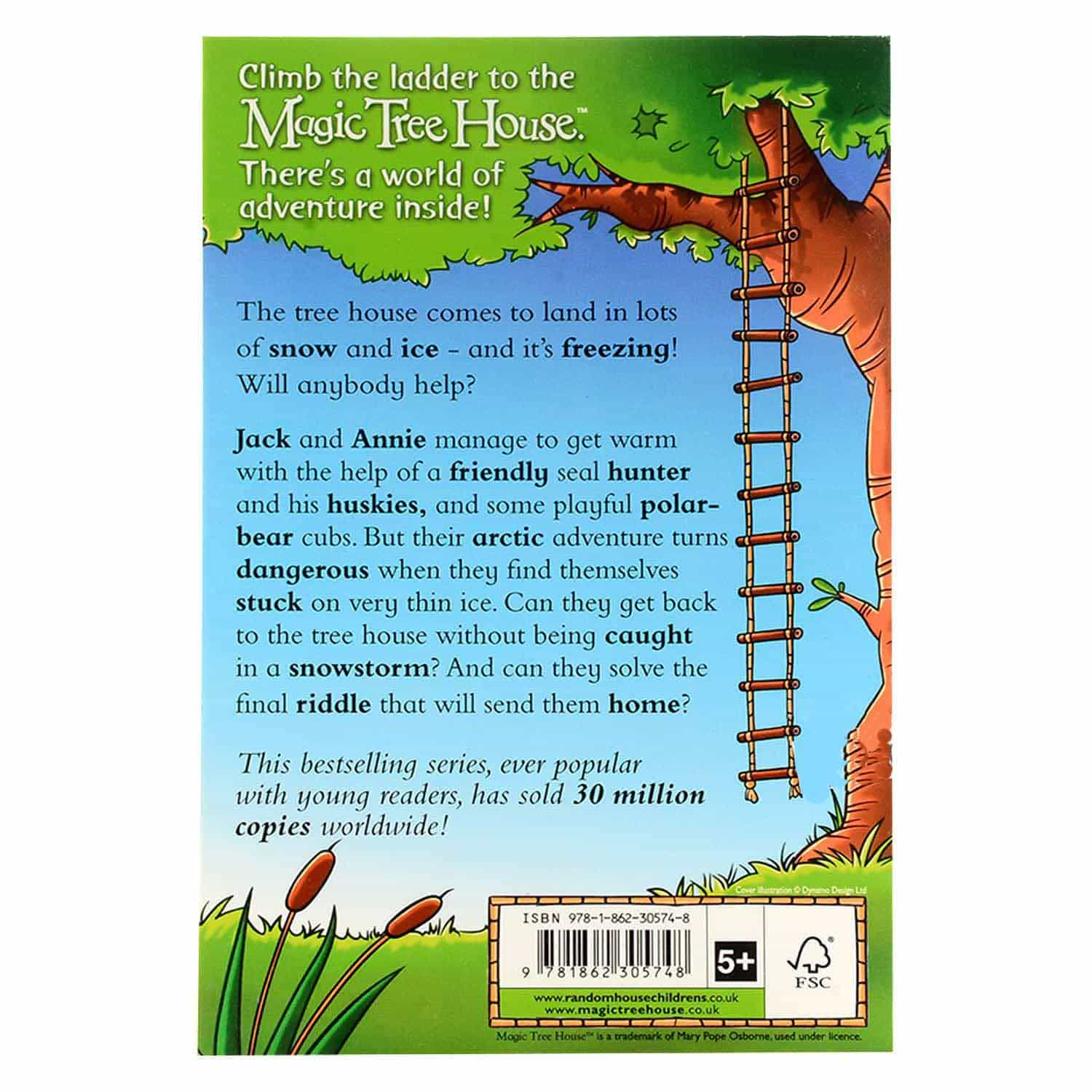 Magic Tree House Series - Icy Escape