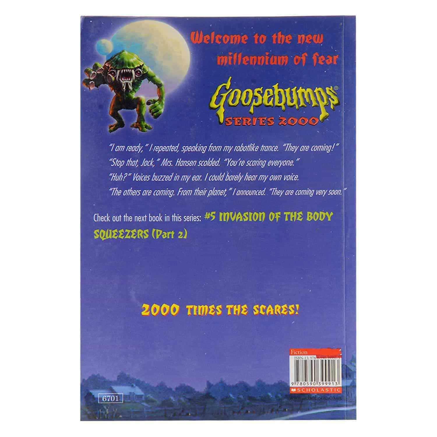 Goosebumps Horrorland Series - Invasion of the Body Squeezers