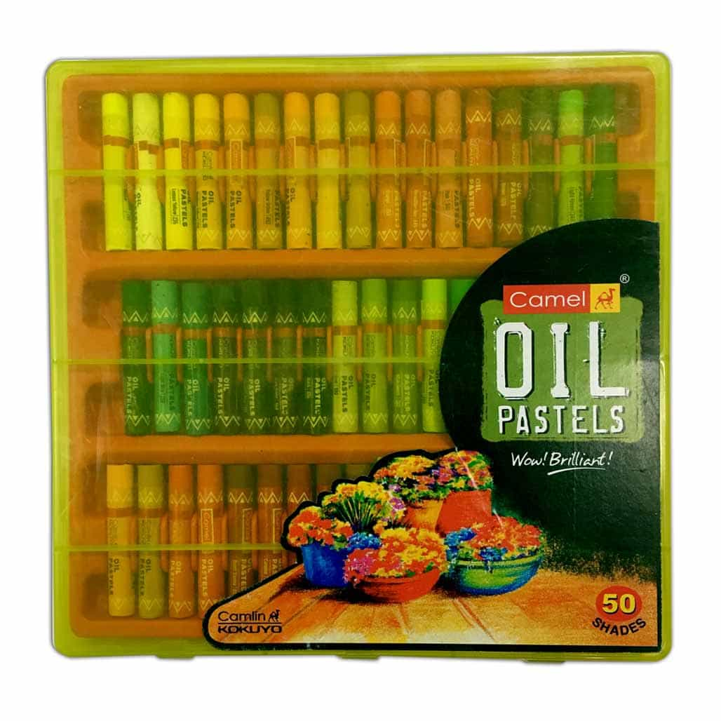 Camlin Oil Pastel Colors - 50 Shades