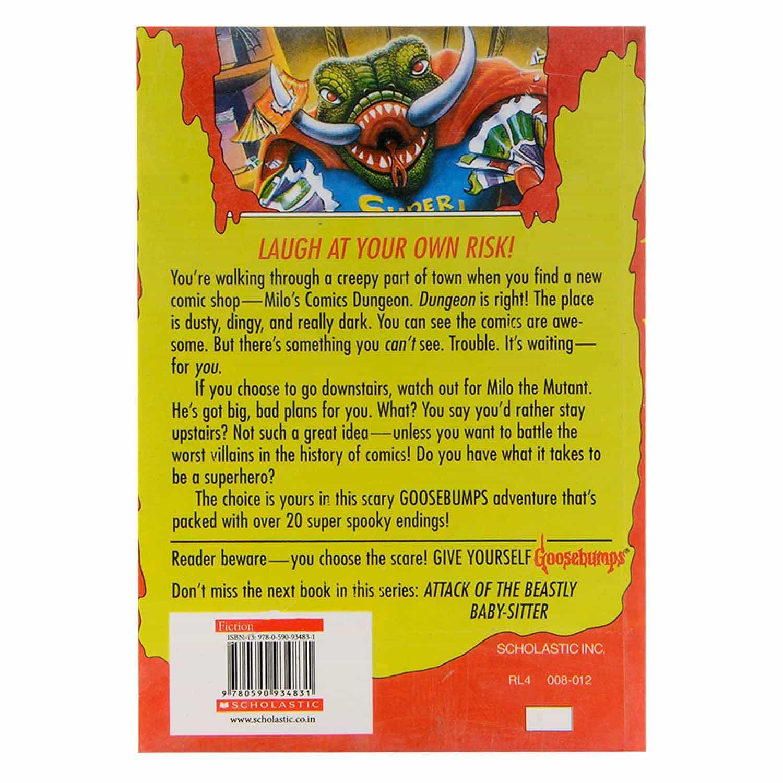 Goosebumps Horrorland Series - #17  Little Comic Shop of Horrors