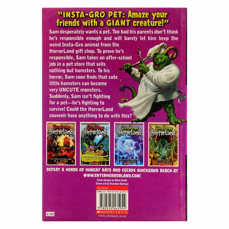 Goosebumps Horrorland Series - Little Shop of Hamsters