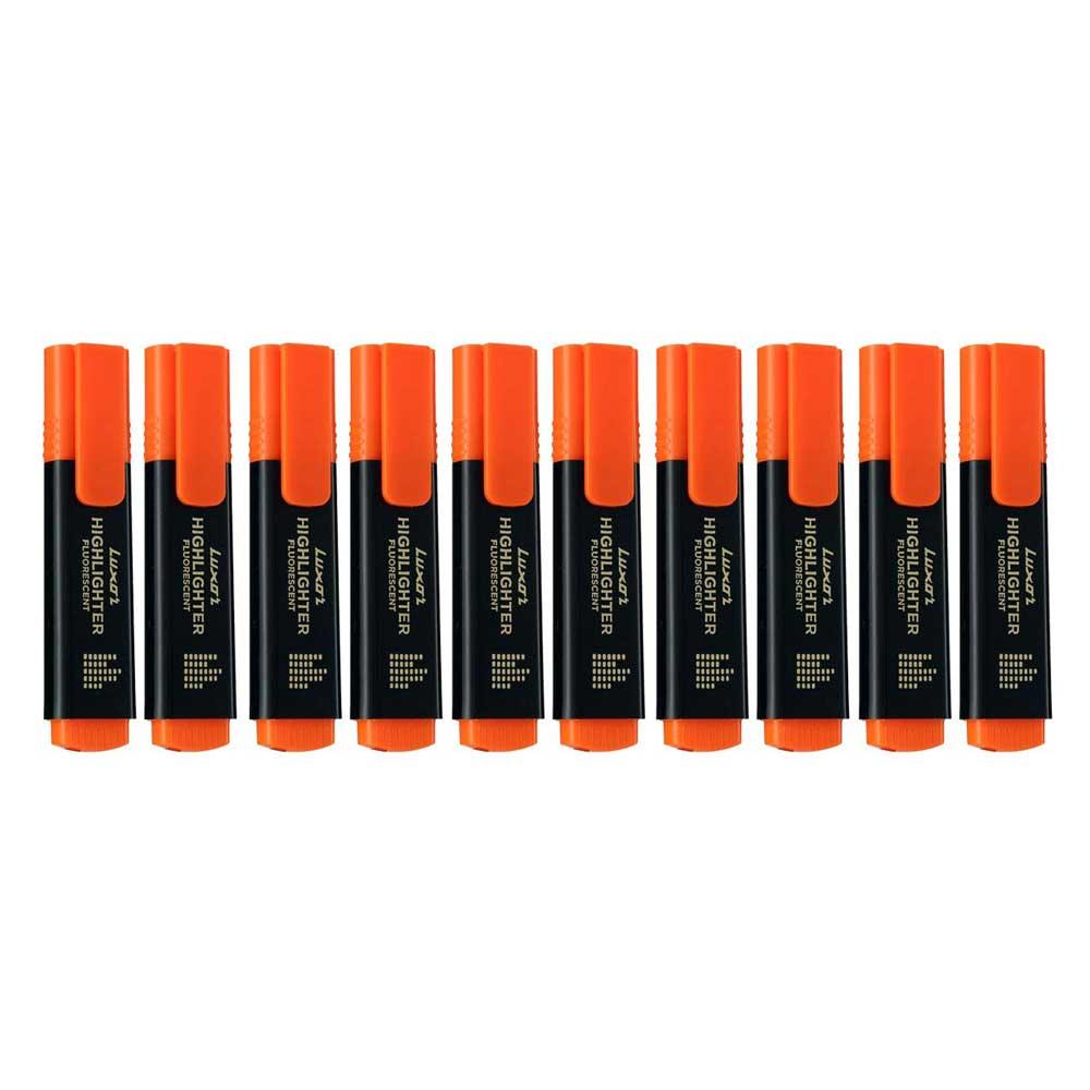 Luxor 1851 Highlighter (Box of 10 Orange Pens)