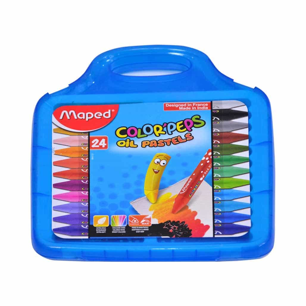 Maped Oil Pastel Colors - 24 Shades