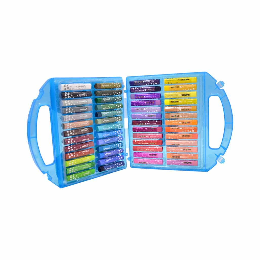 Maped Oil Pastel Colors - 52 Shades