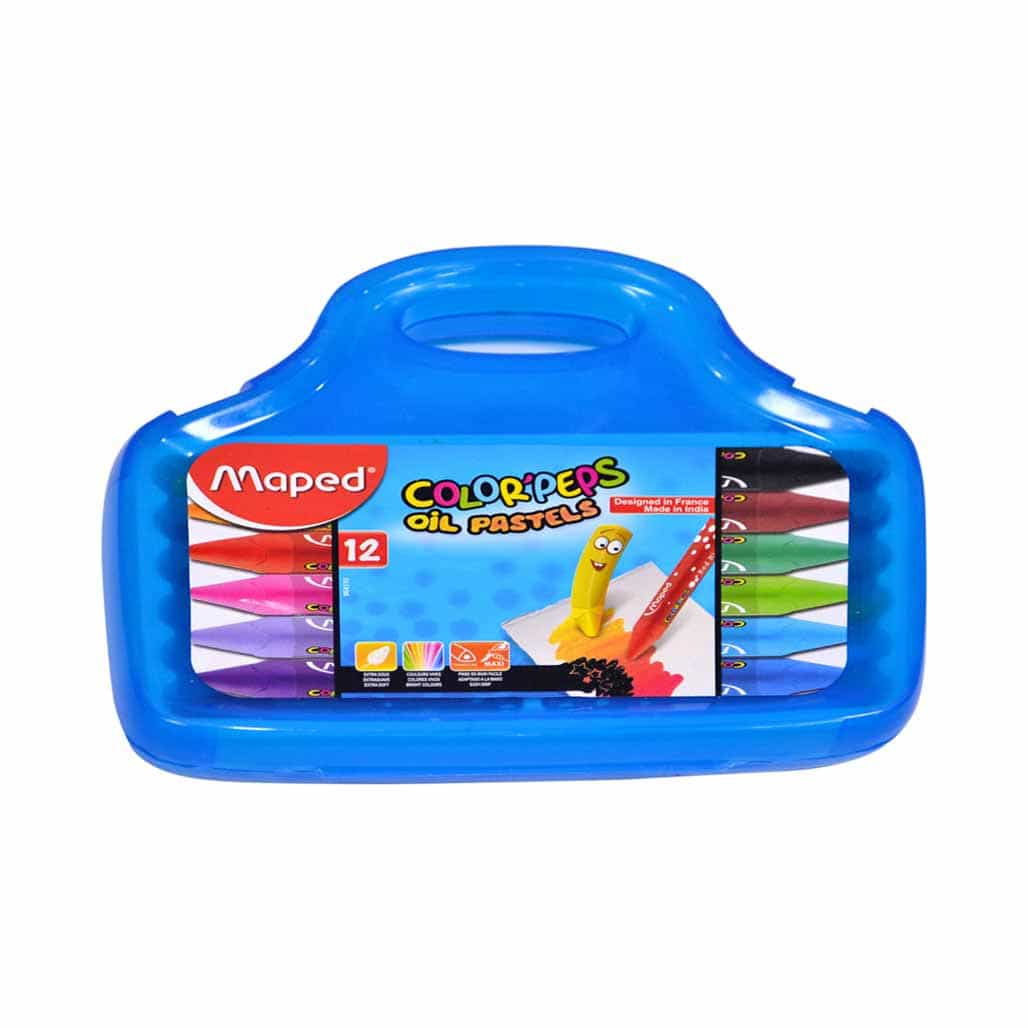 Maped Oil Pastel Colors - 12 Shades