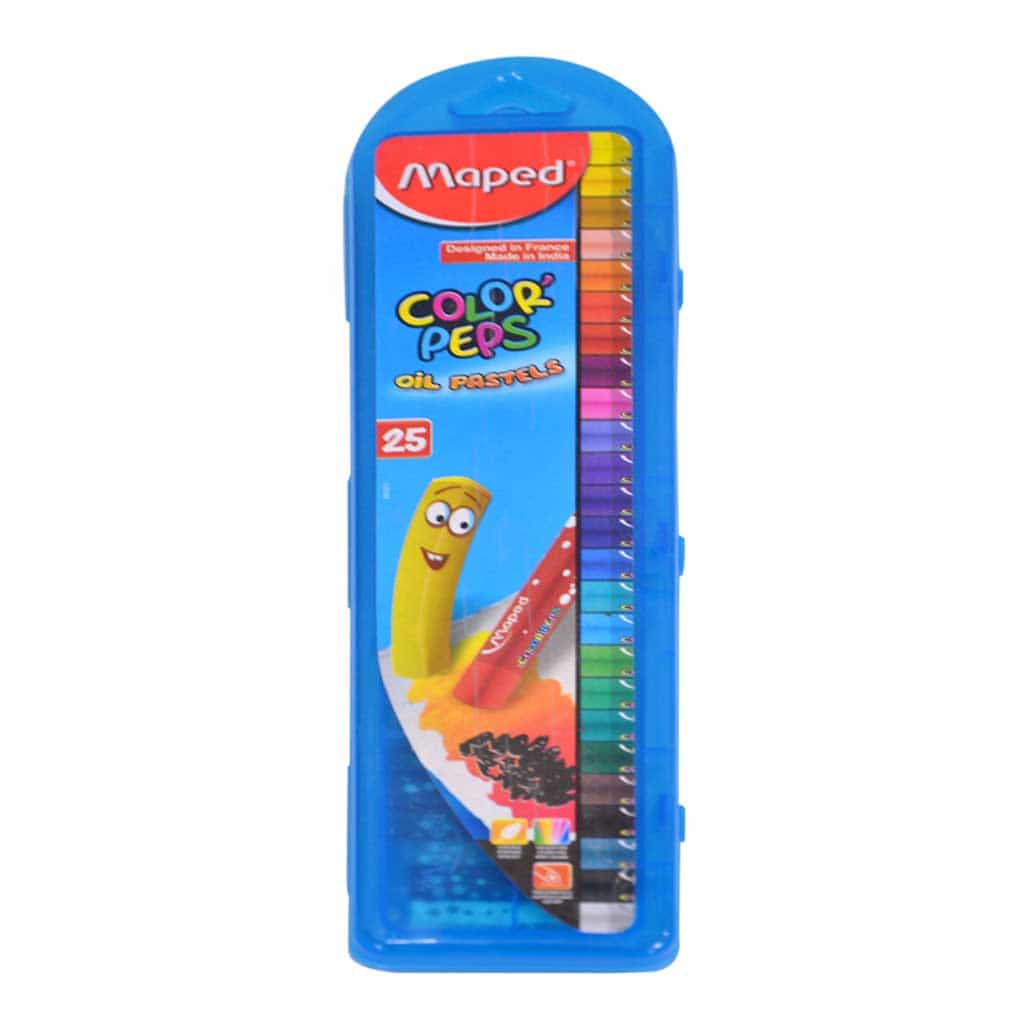 Maped Oil Pastel Colors - 25 Shades