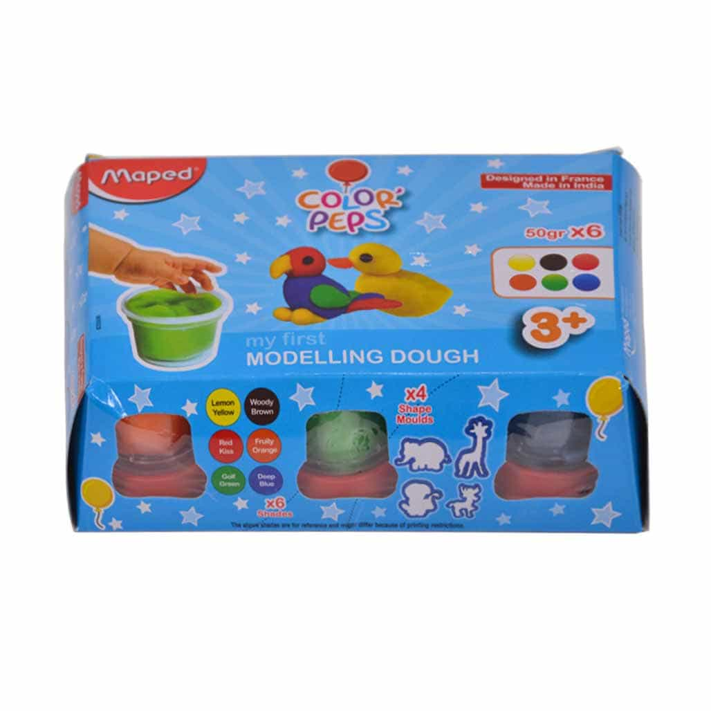 Maped Modelling Dough - 6 Shades