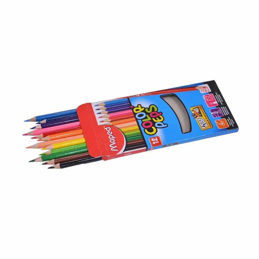 Maped Color Pencils - 12 Shades