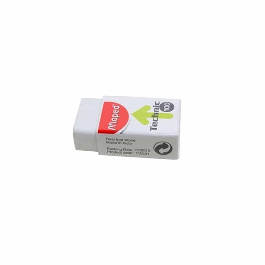 Maped Dust Free Eraser - Set of 10