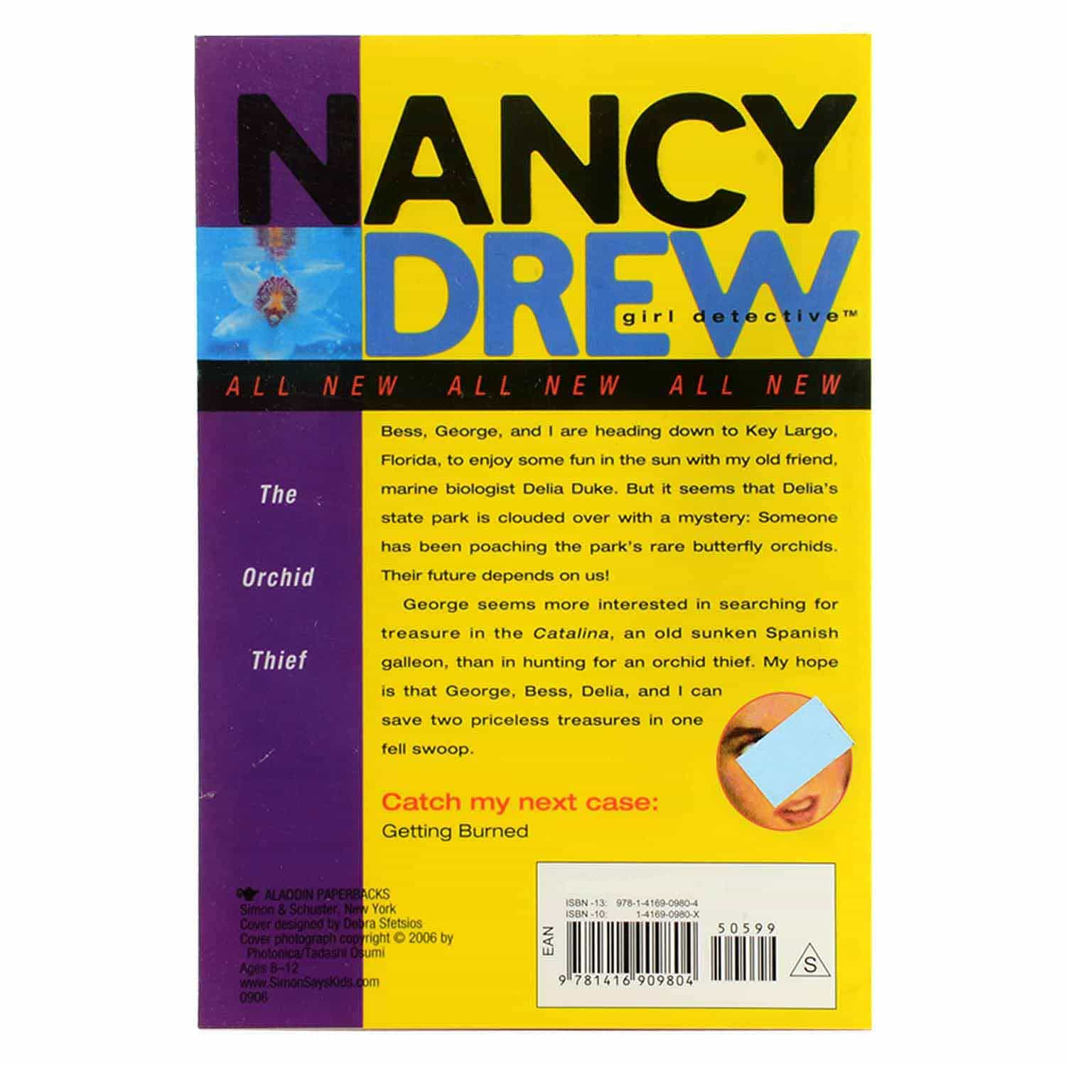 Nancy Drew Series - #19 The Orchid Thief
