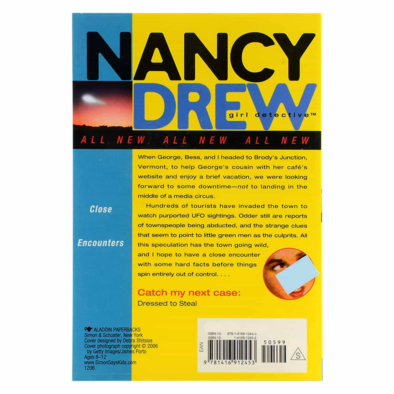 Nancy Drew Series - #21 Close Encounters