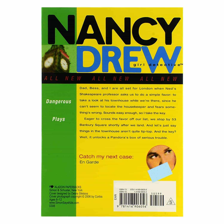 Nancy Drew Series - #16 Dangerous Plays