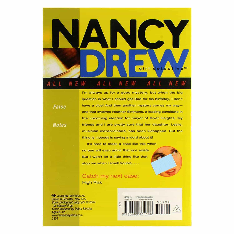 Nancy Drew Series - #3 False Notes