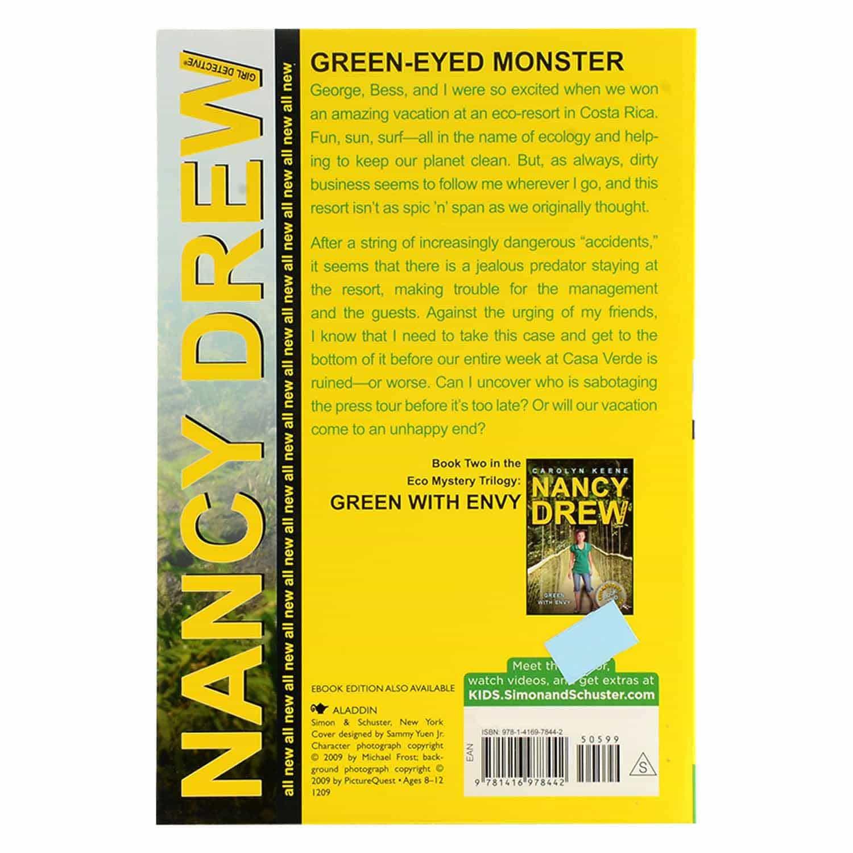 Nancy Drew Series - Green-Eyed Monster